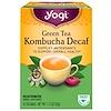 Yogi Tea, 녹차 콤부차 무카페인, 16 티백, 1.12 온스 (32 g)