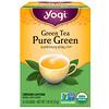 Yogi Tea, Pure Green, Green Tea, 16 Tea Bags, 1.09 oz (31 g)