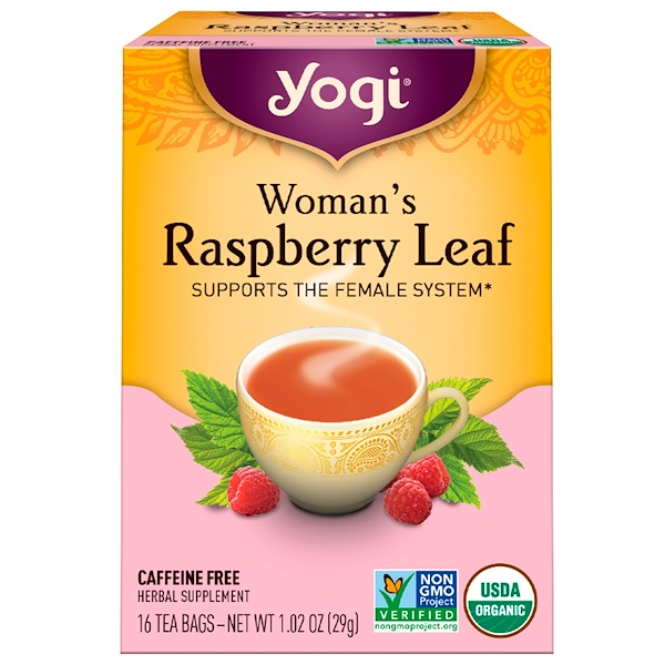 Woman's Raspberry Leaf, Caffeine Free, 16 Tea Bags, 1.02 oz (29 g)
