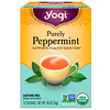 Yogi Tea, Organic, Purely Peppermint, 무카페인, 16 티백, .85 온스 (24 g)