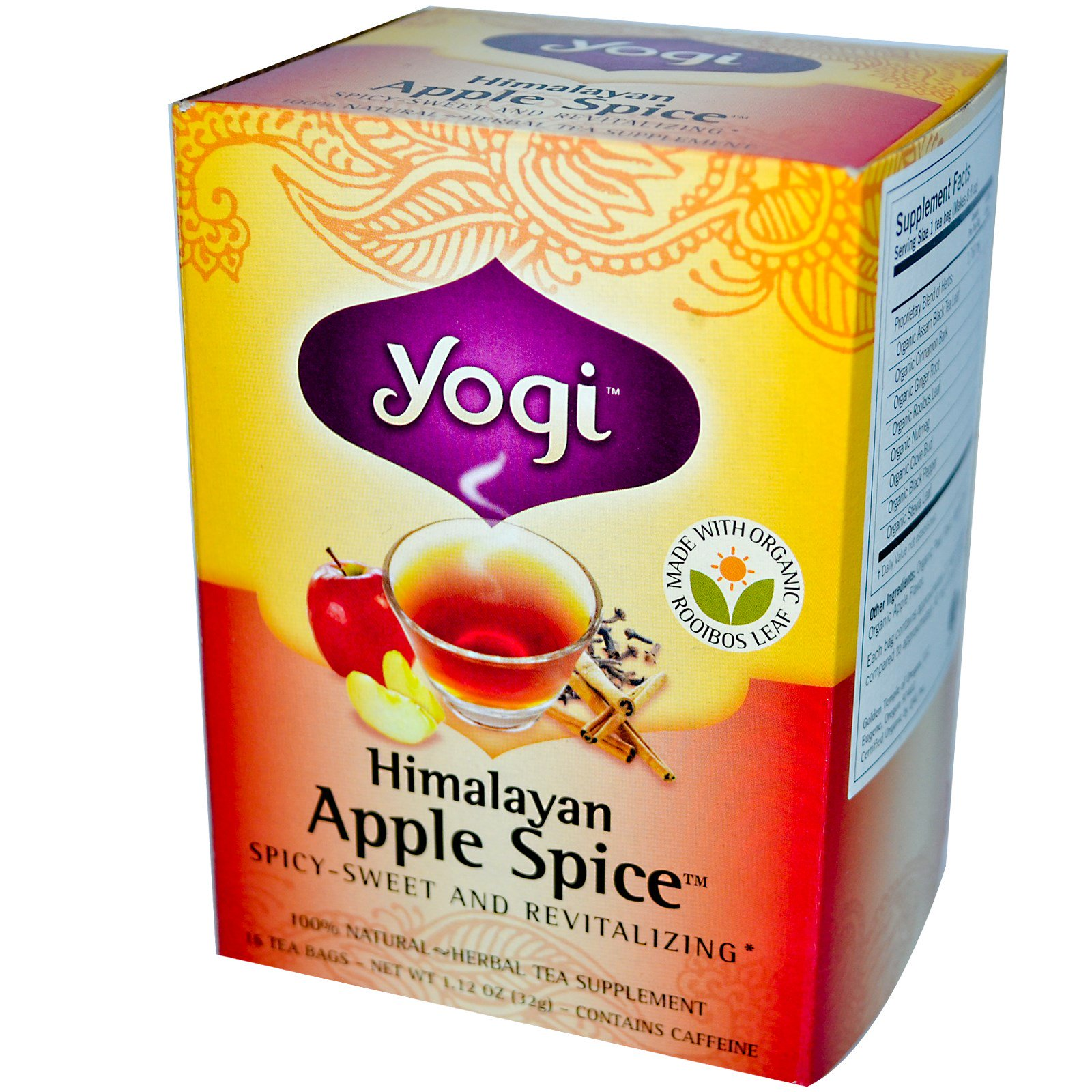 Yogi Tea, Himalayan Apple Spice
