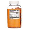 GummYum!, жевательные таблетки с витаминомC, натуральный апельсиновый вкус, 125мг, 180жевательных таблеток