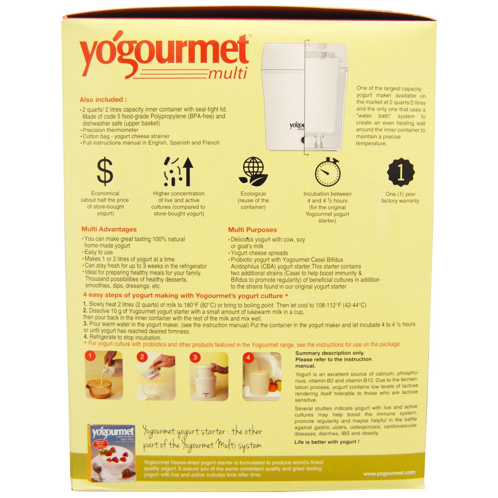 Yogourmet Multi Electric Yogurt Maker 1