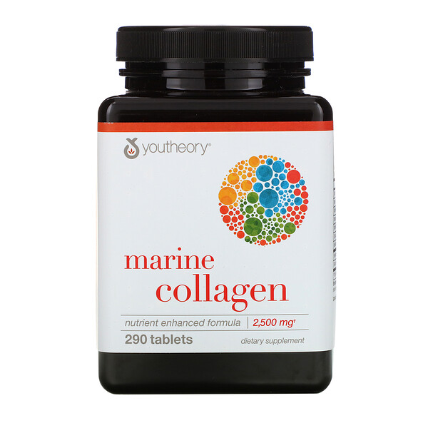 Marine Collagen, 2,500 mg , 290 Tablets