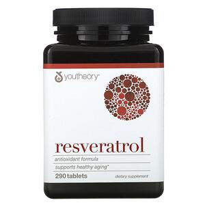 Ютиори, Resveratrol, 290 Tablets отзывы покупателей