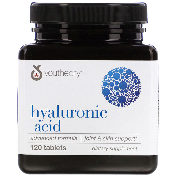 Youtheory, Hyaluronic Acid, Advanced Formula, 120 Tablets