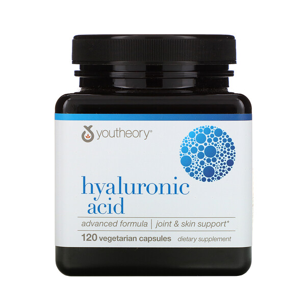 Hyaluronic Acid, Advanced Formula, 120 Vegetarian Capsules