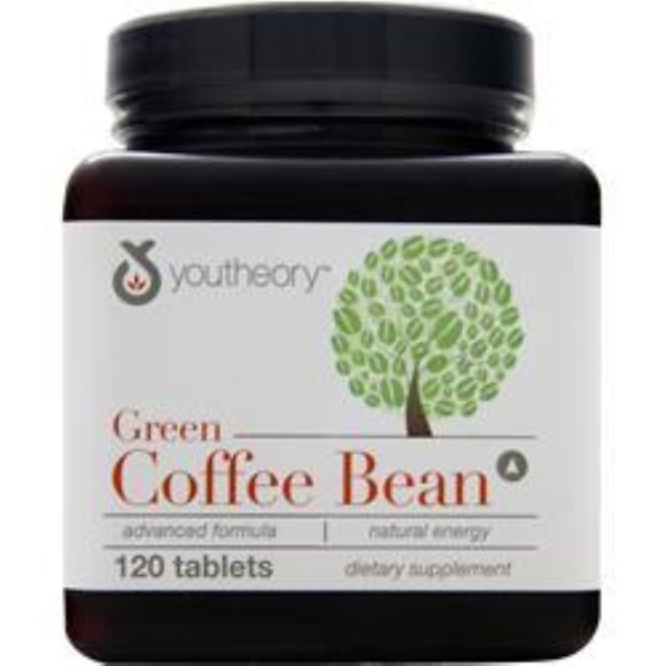 Youtheory, Green Coffee Bean, 120 Tablets (Discontinued Item)