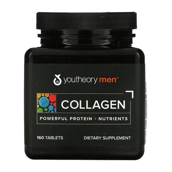 Men, Collagen, 160 Tablets