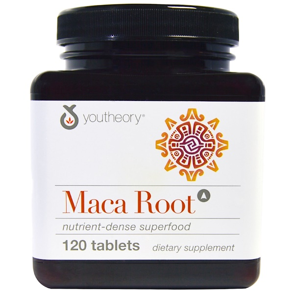 Youtheory, Maca Root, 120 Tablets (Discontinued Item)