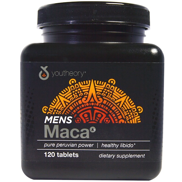 Youtheory, Men's Maca, 120 Tablets (Discontinued Item)