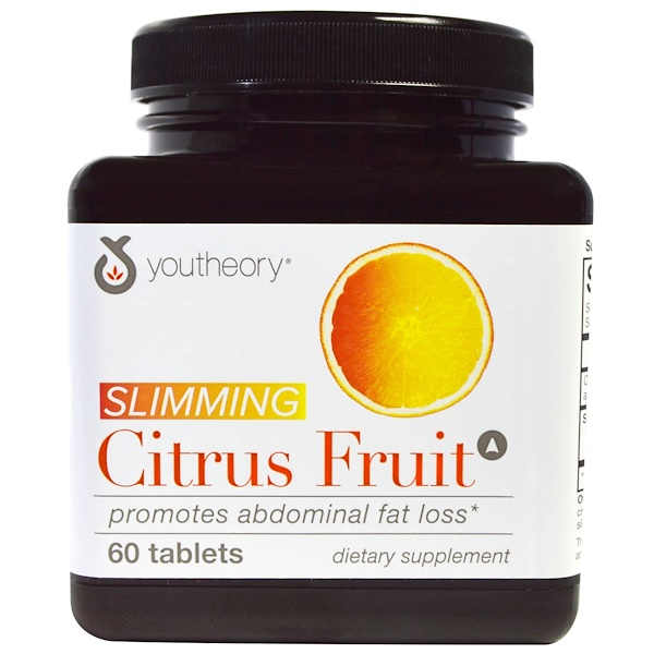 Youtheory, Slimming Citrus Fruit, 60 Tablets (Discontinued Item)