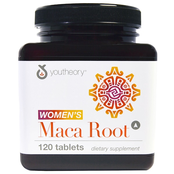 Youtheory, Women's Maca Root, 120 Tablets (Discontinued Item)