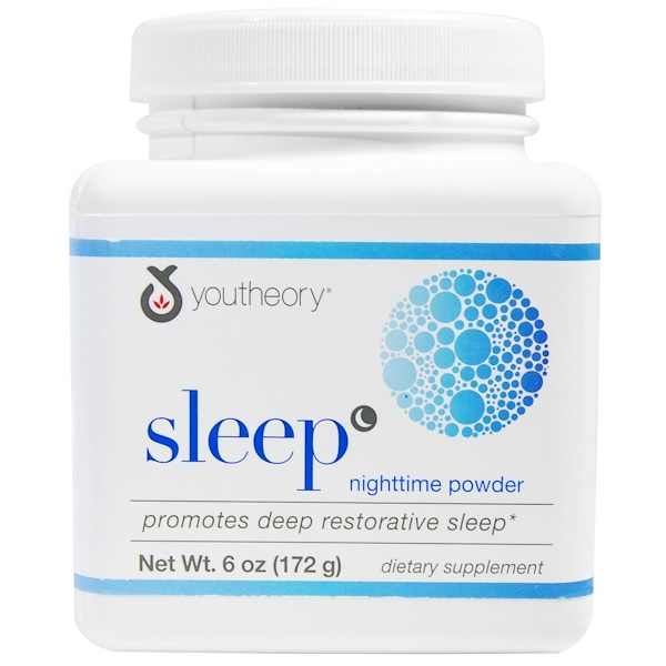 Youtheory, Sleep, Nighttime Powder, 6 oz (172 g) (Discontinued Item)