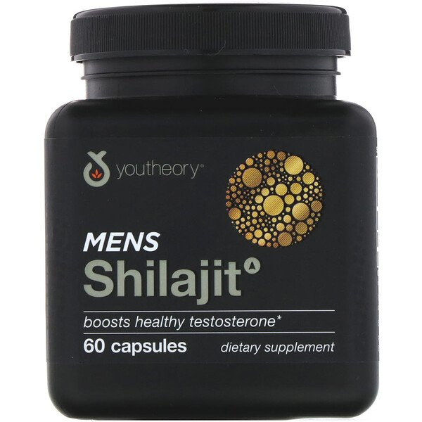 Youtheory, Mens Shilajit, 60 Capsules