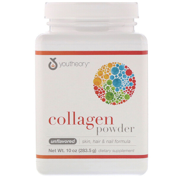 Collagen Powder, Unflavored, 10 oz (283.5 g)