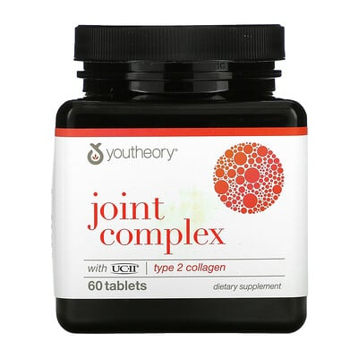Купить Youtheory Joint Complex, Type 2 Collagen, 60 Tablets