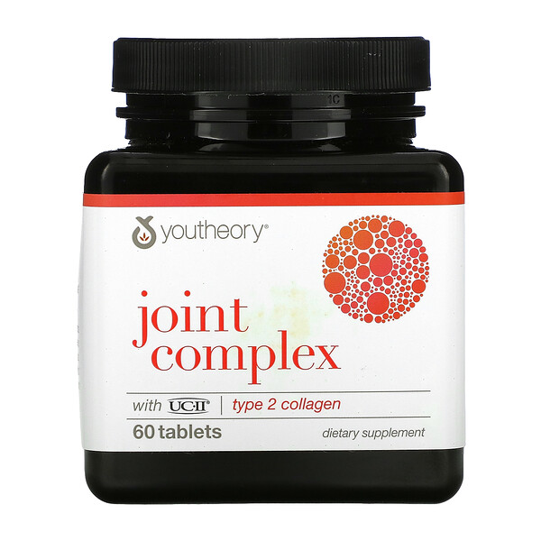 Youtheory, Joint Complex with UC-11, Type 2 Collagen, 60 Tablets