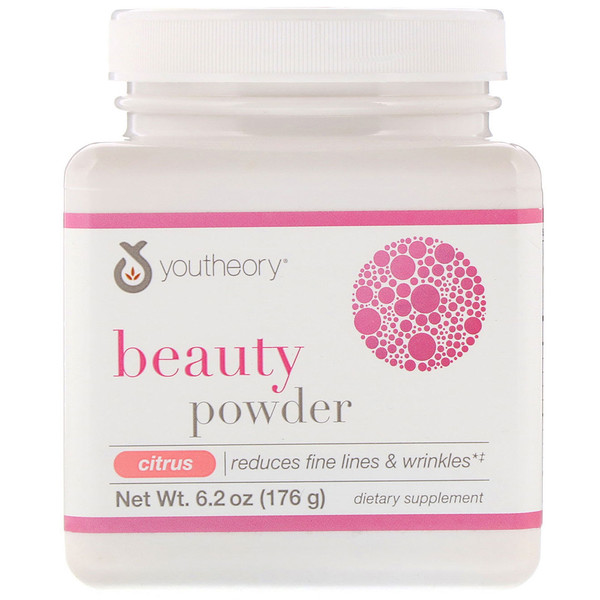 Youtheory, Beauty Powder, Citrus, 6.2 oz (176 g)