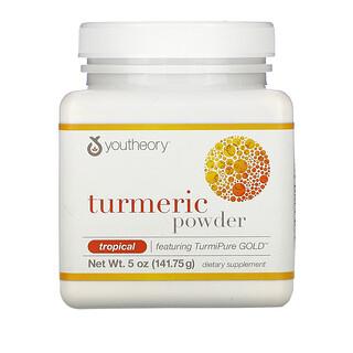 Youtheory, Turmeric Powder, Tropical, 5 oz (141.75 g)