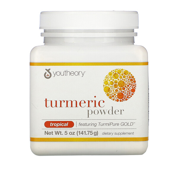 Youtheory, Turmeric Powder, Tropical, 5 oz (141.75 g)