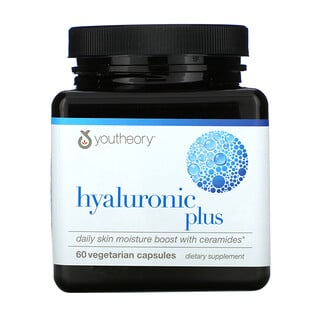 Youtheory, Hyaluronic Plus, 60 Vegetarian Capsules