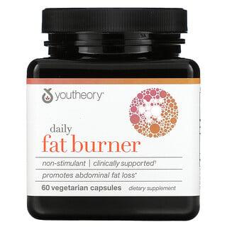 Youtheory, Daily Fat Burner, 60 Vegetarian Capsules