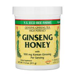 Y.S. Eco Bee Farms, 人參蜜,11.0盎司(311克)