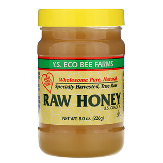 Y.S. Eco Bee Farms, Raw Honey, 8.0 oz (226 g)