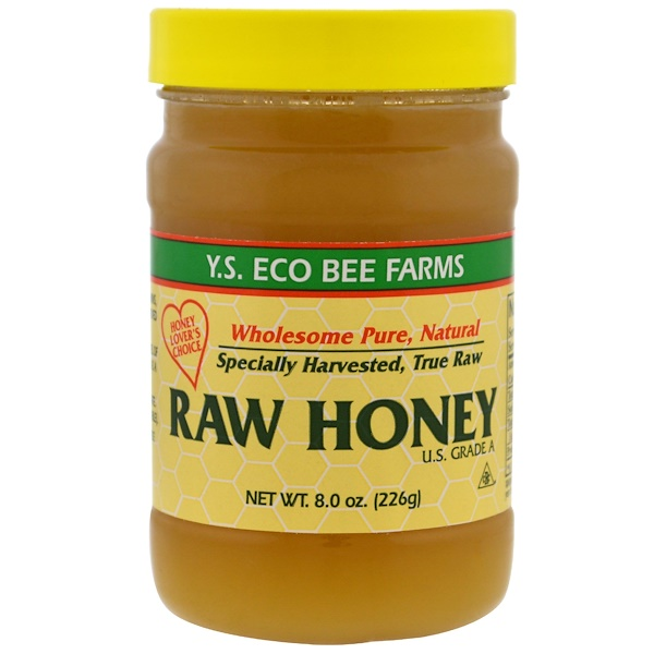 Y.S. Eco Bee Farms, Miel cruda, 8.0 oz (226 g)