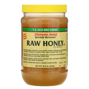 ЙС Эко Би Фармс, Raw Honey, U.S. Grade A, 22.0 oz (623 g) отзывы покупателей