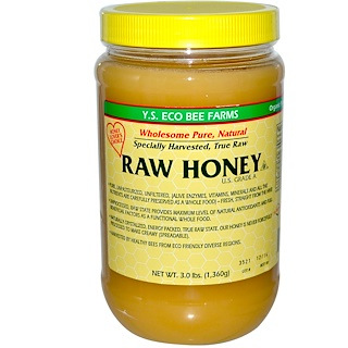 Y.S. Eco Bee Farms, Raw Honey, 3.0 lbs (1,360 g)