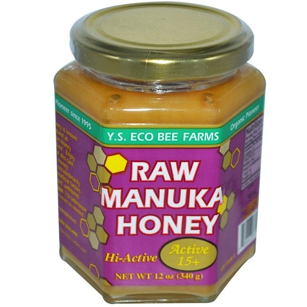 Y.S. Eco Bee Farms, Raw Manuka Honey, Active 15+, 12 oz (340 g)