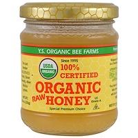 100% сертифицированный неочищенный мед органического происхождения, 226 г (8,0 унций) - фото