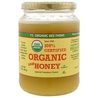 100% Органический сырой мед, 2,0 фунта (907 г) - фото
