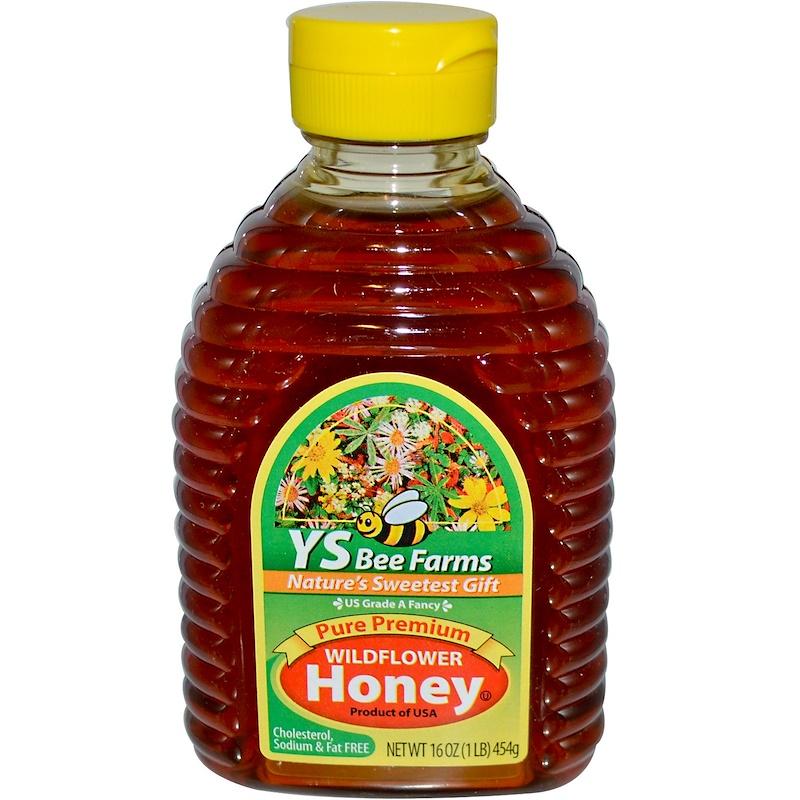 Pure Premium Wildflower Honey, 16 oz (454 g)