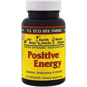 ЙС Эко Би Фармс, Positive Energy, 35 Capsules отзывы
