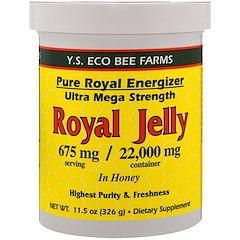 Y.S. Eco Bee Farms, 로얄 젤리 꿀, 675 mg, 11.5 oz (326 g)