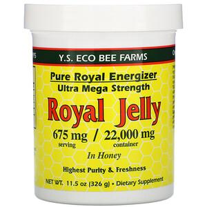 ЙС Эко Би Фармс, Royal Jelly In Honey, 675 mg, 11.5 oz (326 g) отзывы