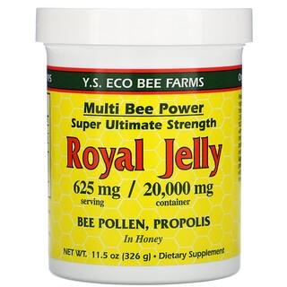 Y.S. Eco Bee Farms, Royal Jelly, 625 mg, 11.5 oz (326 g)