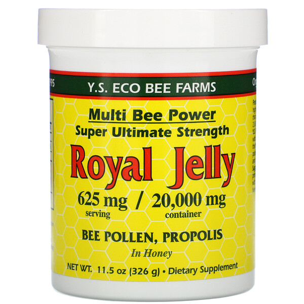 Royal Jelly, 625 mg, 11.5 oz (326 g)