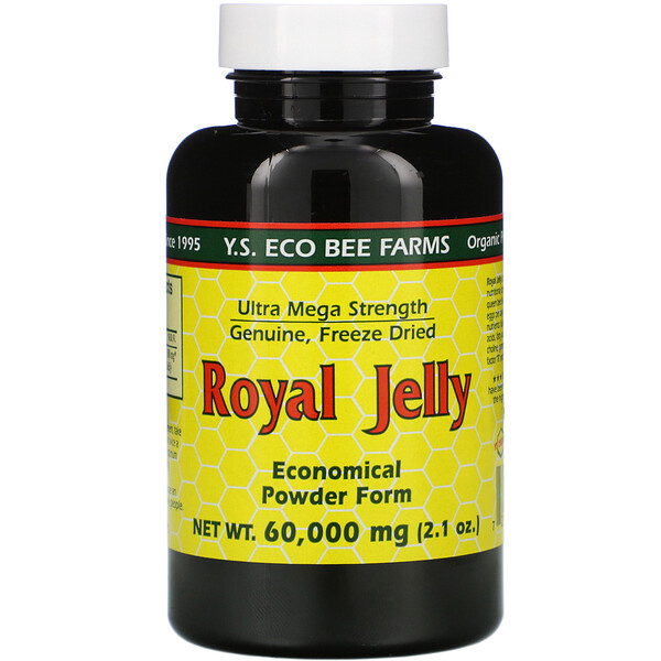 Y.S. Eco Bee Farms, Royal Jelly, 1,750 mg, 2.1 oz