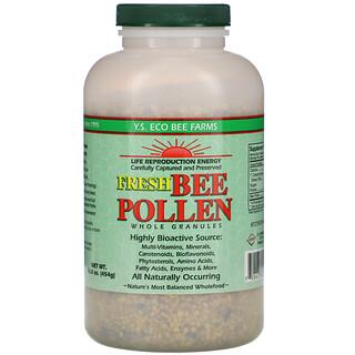 Y.S. Eco Bee Farms, Fresh Bee Pollen Granules, Whole, 16.0 oz (454 g)