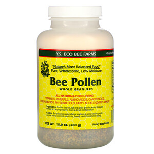 ЙС Эко Би Фармс, Bee Pollen Granules, Whole, 10.0 oz (283 g) отзывы