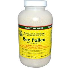 Y.S. Eco Bee Farms, لقاح النحل، حبيبات كاملة، 16 أونصة (453 غرام)