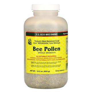 Y.S. Eco Bee Farms, Bee Pollen Granules, Whole, 16.0 oz (454 g)