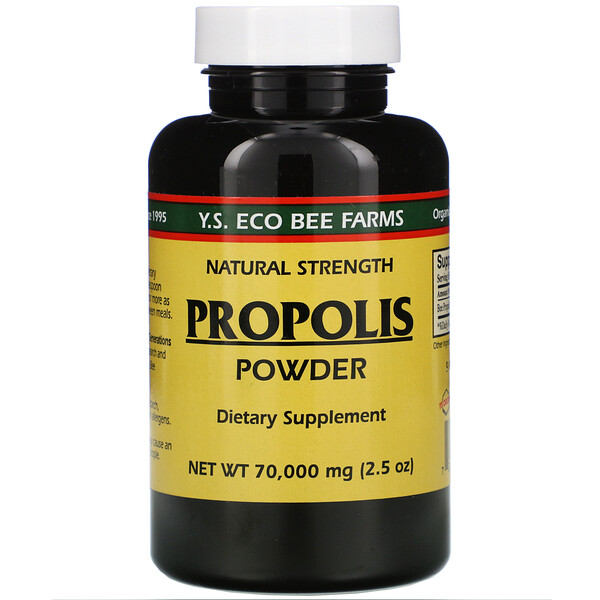 Y.S. Eco Bee Farms, Propolis Powder, 850 mg, 2.5 oz