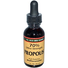 Y.S. Eco Bee Farms, Propolis, 70% Ultra Strength, 1 fl oz (30 ml)