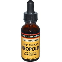 Y.S. Eco Bee Farms, Propolis, High Strength, Alcohol Free, 1 fl oz (30 ml)