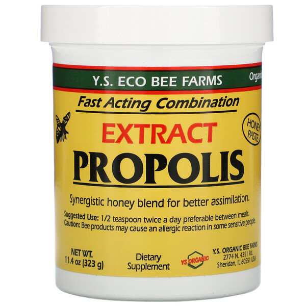 Y.S. Eco Bee Farms, Propolis Extract, 11.4 oz (323 g)